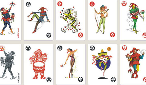 扑克牌中的jqk真实人物都是谁?